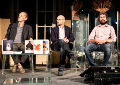 Ermanno Cavazzoni, Davide Orecchio, Francesco Targhetta