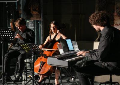 I musicisti dell'Orchestra Senzaspine