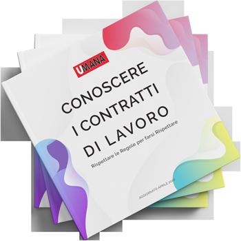 Copertina Libretto Contratti di Umana S.p.A.