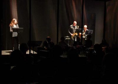 Reading di Mariangeles Torres e accompagnamento musicale di Luciano Zadro e Paolo Favini